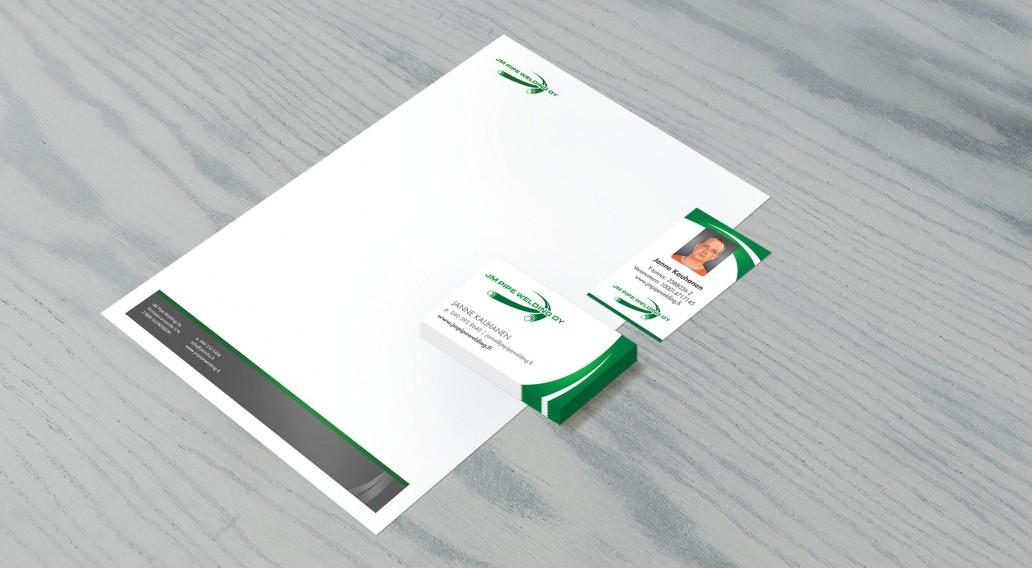 Kirjelomake A4 • Käyntikortti • Henkilökortti